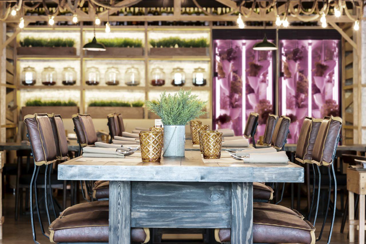 Natufia kitchen garden integrated into luxury homes and restaurants
